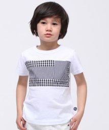 RUGGEDWORKS/チェック切り替えTシャツ/500896691