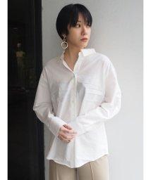 MURUA/オフショルダーストラップシャツ/500923554