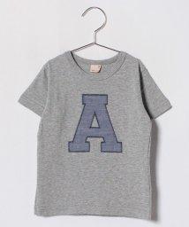 petit main/アルファベットアップリケつきTシャツ/500904985