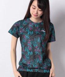 FILA/FILA PEメッシュプリントTシャツ/500898908