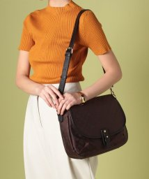russet/Flap Shoulder Bag/500899592