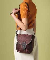 russet/Flap Mini Shoulder Bag/500899597
