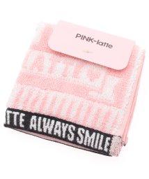PINK-latte/ベビーカラー ミニタオル/500924437