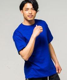 CavariA/CavariA【キャバリア】バックプリントビッグシルエットクルーネック半袖Tシャツ/500925484