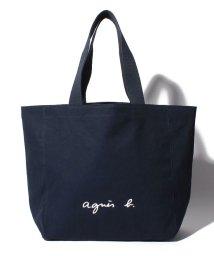 agnes b. Voyage/GO03‐01 ロゴトートバッグ/001947443