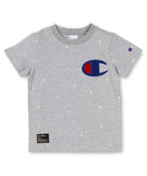 RADCHAP(ラッドチャップ)/RADCHAP×Champion箔CマークTシャツ/418206070