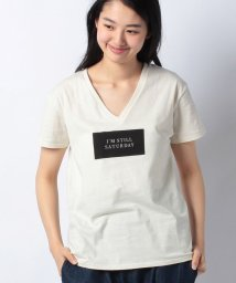 AZUL by moussy/SATURDAY Tシャツ/500897245