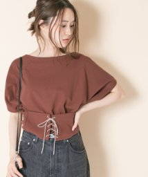 URBAN RESEARCH OUTLET/【UR】2WAYレースアップTOPS/500910025