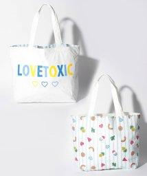 Lovetoxic/リバーシブルトートバッグ/500912463