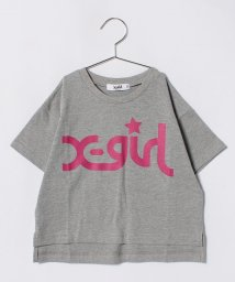 X-girl Stages/ビッグロゴプリントTシャツ/500912473