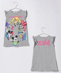 X-girl Stages/Disneyコラボ袖フリルワンピース/500912475