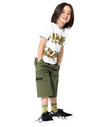 XLARGE KIDS/カーゴ布帛ショートパンツ/500912477