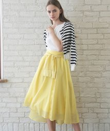 Noela/【ママガール夏号/With7月号掲載/美人百花6月号掲載】シャツ風カラースカート/500922781