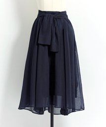 Noela/【美人百花6月号掲載】シャツ風カラースカート/500922781