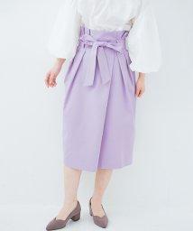 haco!/こんな服着てデートしたい! ウエストリボンの女っぽスカート/500925361