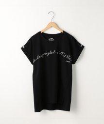 coen/ドルマンスリーブスター刺繍Tシャツ/500927493