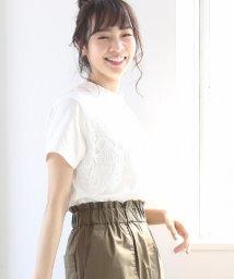coen/レースドッキングTシャツ/500927496