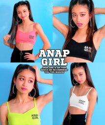 ANAP GiRL/胸ロゴブラトップ/500922084
