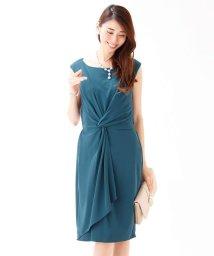 BLUEEAST/≪結婚式 二次会 パーティー≫ウエストツイストデザインドレス/500928502