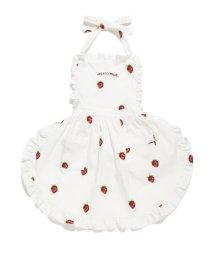 gelato pique Kids&Baby/ストロベリー kids エプロン/500934382