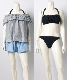 earth music & ecology(SWIMWEAR)/スカラップ/500906736