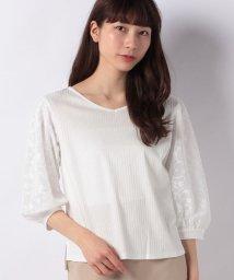 B donna/フラワーチュールシャツ/500920506