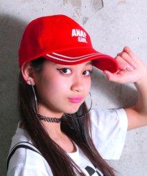 ANAP GiRL/ライン入キャップ/500926330