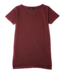 SocialGIRL/Vネック半袖Tシャツ/500935672