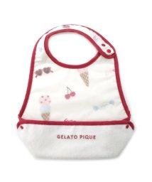 gelato pique Kids&Baby/ガールズフェイバリット baby お食事スタイ/500938098