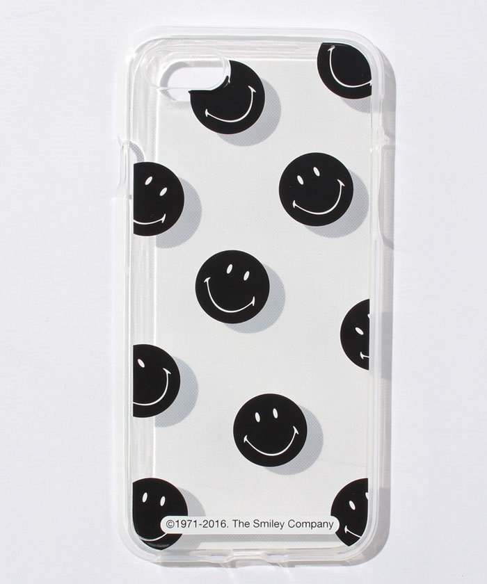 <Smiley>iPhone7 Pattern Jelly