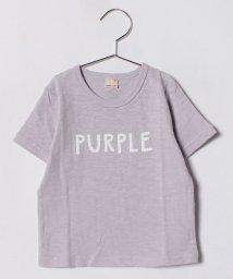 petit main/タグプリントTシャツ/500919645