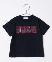 X-girl Stages/ラインストーンボックスロゴTシャツ/500919709