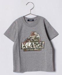 XLARGE KIDS/カモフラージュOGTシャツ/500919717