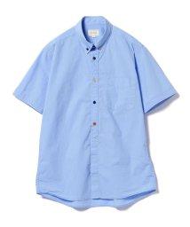 BEAMS OUTLET/BEAMS / ブロード マルチボタン 半袖シャツ/500923265