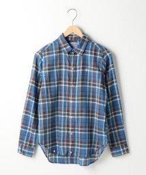 coen/【『リンネル』6月号掲載】強撚コットンレギュラーシャツ/500925993