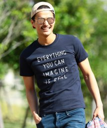 JIGGYS SHOP/クルーネック & Vネック プリント ロゴ Tシャツ / カットソー メンズ プリント/500927537