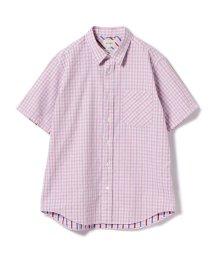 BEAMS OUTLET/BEAMS / ギンガムチェック 半袖シャツ/500928503