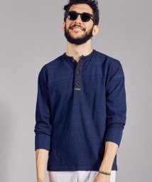 URBAN RESEARCH/FSC JP ID SURPLUS HENLEY NECK LONG-SLEEVE/500939638
