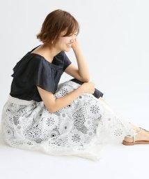 IENA/《追加2》LUANA レース巻きスカート◆/500940381