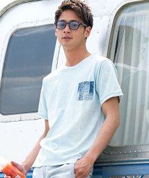 CavariA/CavariA【キャバリア】デニムポケット付きクルーネック半袖Tシャツ/500941483