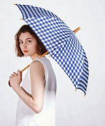 UNITED ARROWS/UWSC チェック柄 シャンブレー 晴雨兼用 傘/500941731