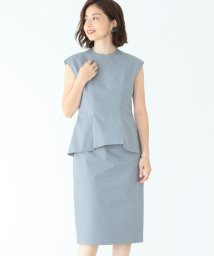 BEAMS OUTLET/Demi-Luxe BEAMS / ペプラムタイト ワンピース/500838227
