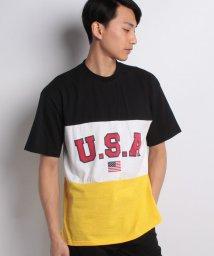 STYLEBLOCK/切替配色BIGTシャツ/500914066