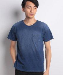 STYLEBLOCK/カットデニム天竺クルーネックTシャツ/500914068