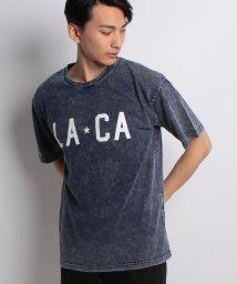 STYLEBLOCK/カットデニムケミカルBIGTシャツ/500914070