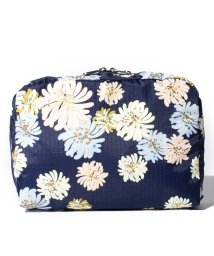 LeSportsac/EXTRA LARGE RECTANGULAR COSMETIC クリザンテーム/LS0020084