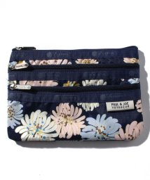 LeSportsac/3ZIP COSMETIC クリザンテーム/LS0020085