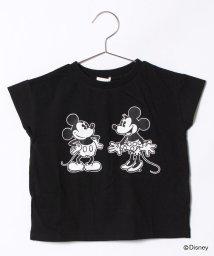 b-ROOM/DISNEYドロップショルダーTシャツ/500926677