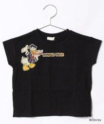 b-ROOM/DISNEYドロップショルダープリントTシャツ/500926678