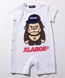 XLARGE KIDS/ファニーゴリラ&キャップ SSショートオール/500927391